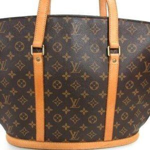 Auth LOUIS VUITTON Babylone Monogram Shoulder Bag